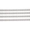 Delica 8/0 Rd Crystal White Ceylon